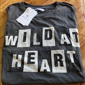 Anine Bing Wild At Heart T-Shirt